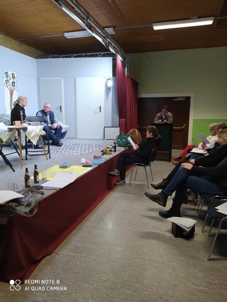 """Übungsabend zum Theaterstück """"Neurosige Zeiten"""" 2020"""