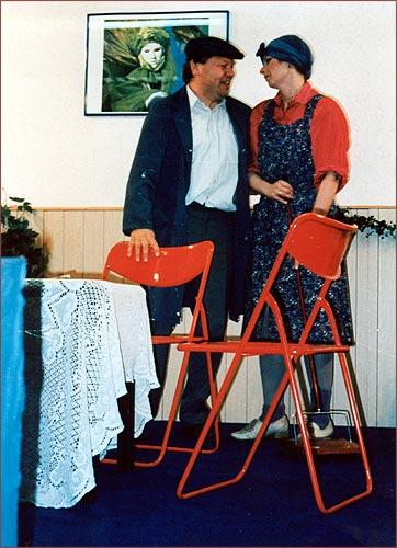 1995 Quartett im Doppelbett